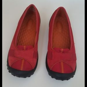 Privo by clarks red slip on shoes